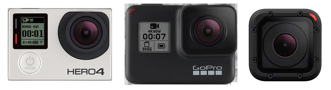 GoPro Hero Cameras
