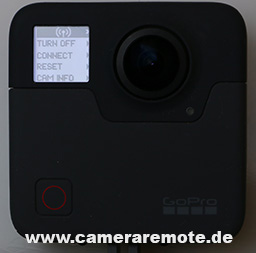 How to connect to GoPro Fusion Wifi - Camera Remote